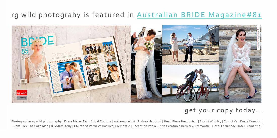 RGWP | Wedding Photography by Linda Wild, RG Wild Photography | PERTH