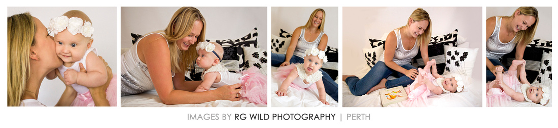 Jade Ruthven, 33, pictured with her daughter Addison. Image by Linda Wild | rg wild photography | Perth | 2015